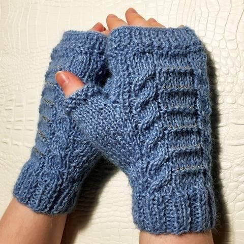 Diana - Fingerless gloves - Sizes XS - S - M - L bei Makerist