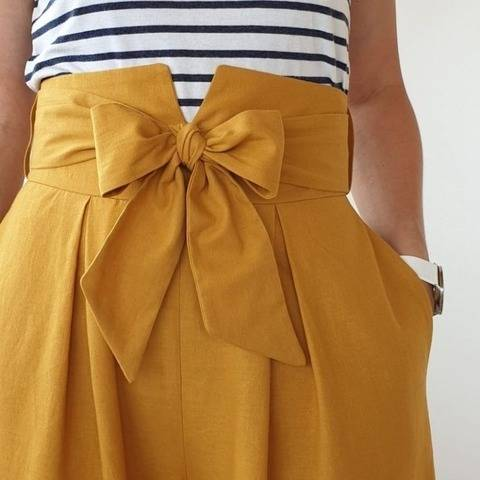 THE CULOTTES SKIRT SEWING PATTERN PDF VERSION