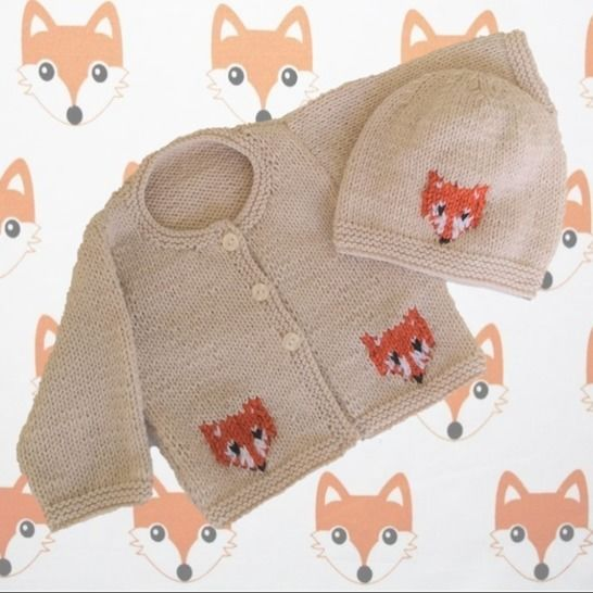 Baby Fox Jacket and Hat at Makerist - Image 1