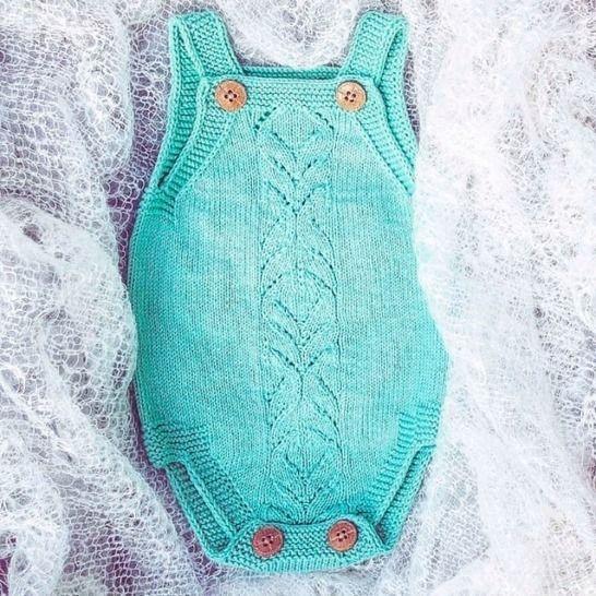 BABY BODY PDF Knitting Pattern at Makerist - Image 1
