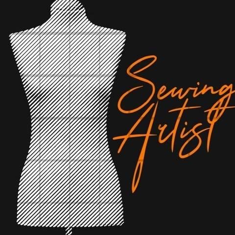 SEWING ARTIST 1 (2) Farbe LineArt Plott Datei  bei Makerist