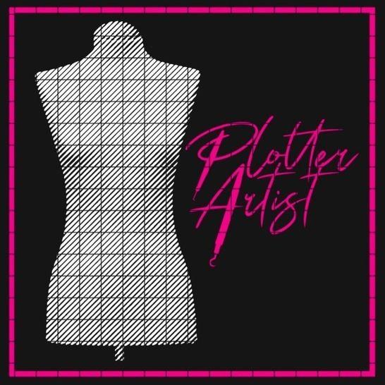 PLOTTER ARTIST 1 (2) Farbe LineArt Plott Datei  bei Makerist - Bild 1