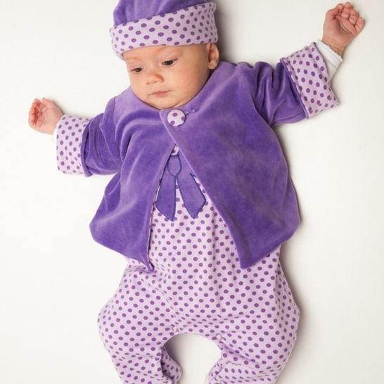 Baby pattern for jacket, overall and beanie, clothing set at Makerist - Image 1