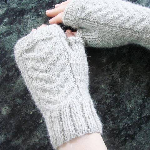 Maëlysse - my Fingerless gloves - Sizes XS - S - M - L