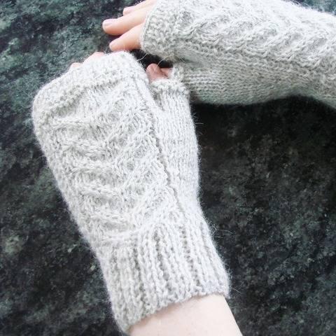 Maëlysse - Fingerless gloves - Sizes XS - S - M - L bei Makerist