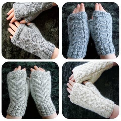 Ebook Alpaga Fingerless gloves  bei Makerist