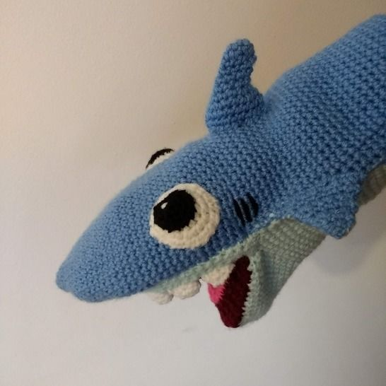 Crochet Shark Amigurumi | Crochet shark, Amigurumi shark ... | 546x546