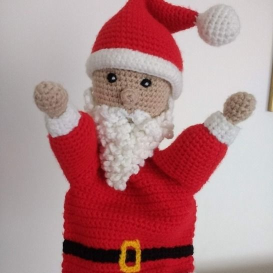 Crochet pattern - Santa amigurumi Christmas doll (English ... | 546x546