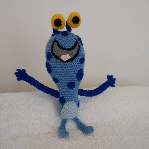 Blue Monster Super Simple Songs at Makerist