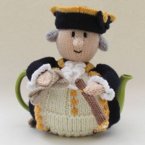 Captain James Cook Tea Cosy