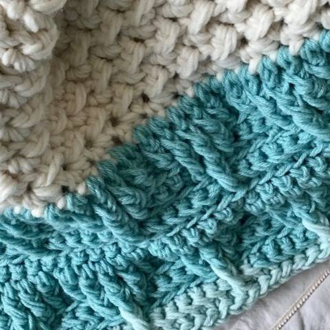 Mountain Top Baby Blanket