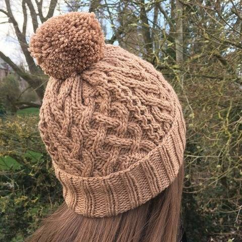Bonnet Erlina - how to knit it