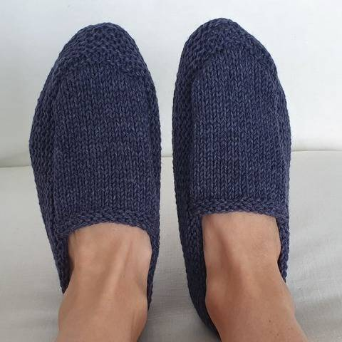 Family moccasin style slippers - Sherrie