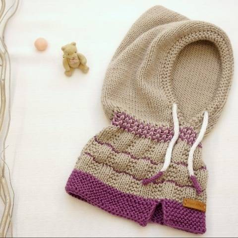 Scoody for toddlers and kids - LITTLE HOODY - No.187E