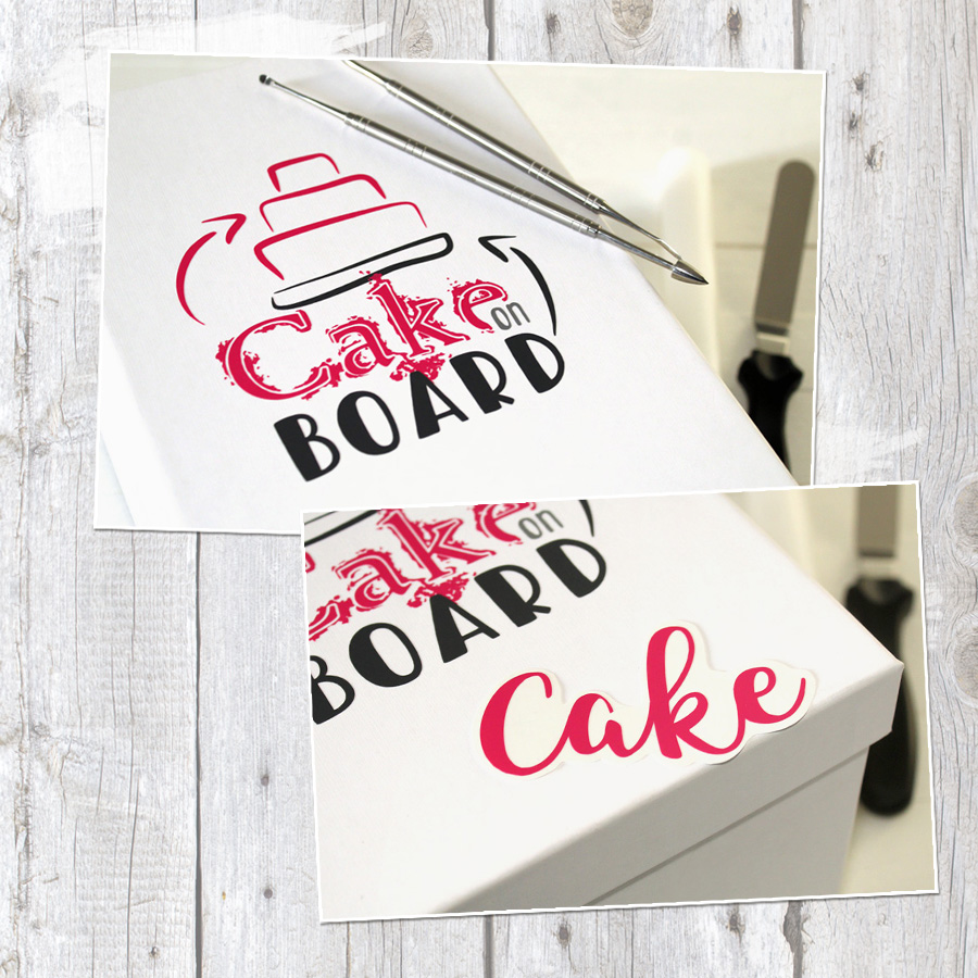 """Wortspiel """"Cakeboard"""" - Plotterdatei"""
