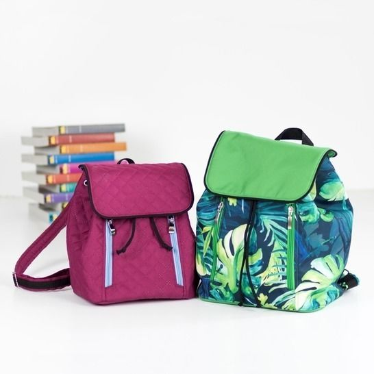 Margo backpack in 2 sizes - backpack pattern and tutorial  at Makerist - Image 1