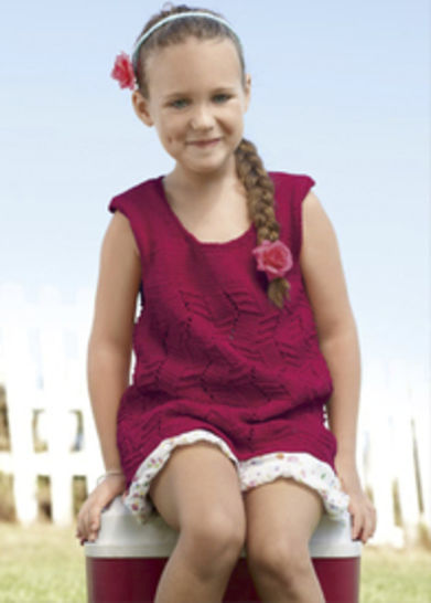 Lielle Top, Tunique enfant - tricot chez Makerist - Image 1
