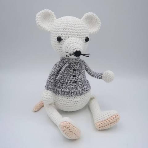 Amori, la souris • Amigurumi au crochet