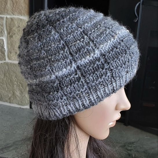 Family textured stitch beanie - 2 yrs to Man - Hurley at Makerist - Image 1