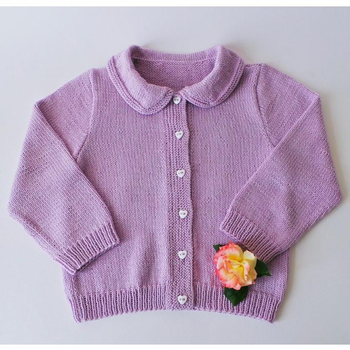 Gilet enfant motif Coeur - Tutoriel tricot