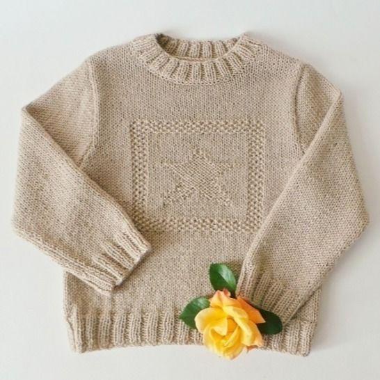 Pull enfant étoile - Tutoriel tricot chez Makerist - Image 1