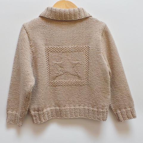 Blouson enfant étoile - Tutoriel tricot