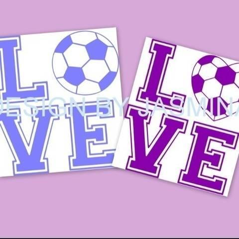 Plotterdatei  SVG, Ich Liebe Fussball