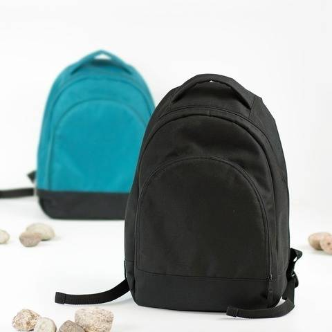 Large everyday backpack sewing pattern for men and women
