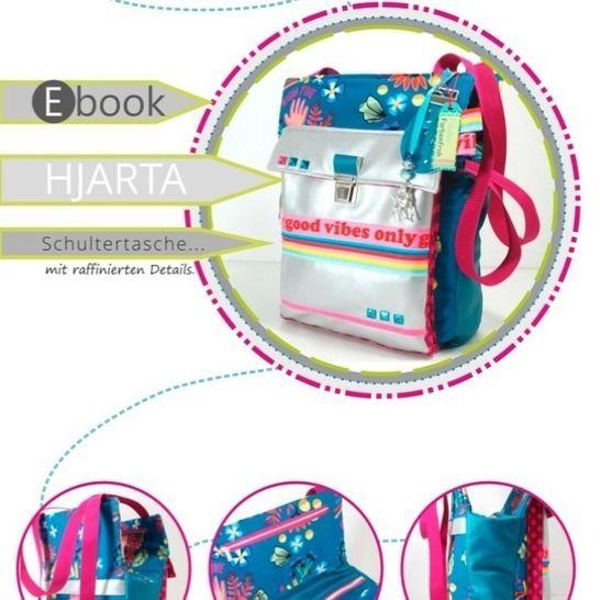 ebook HJARTA ♥ ♥ ♥ Schultertasche im neuen Look bei Makerist - Bild 1