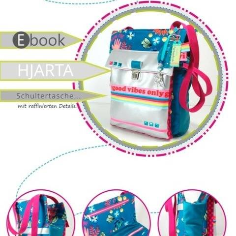 ebook HJARTA ♥ ♥ ♥ Schultertasche im neuen Look