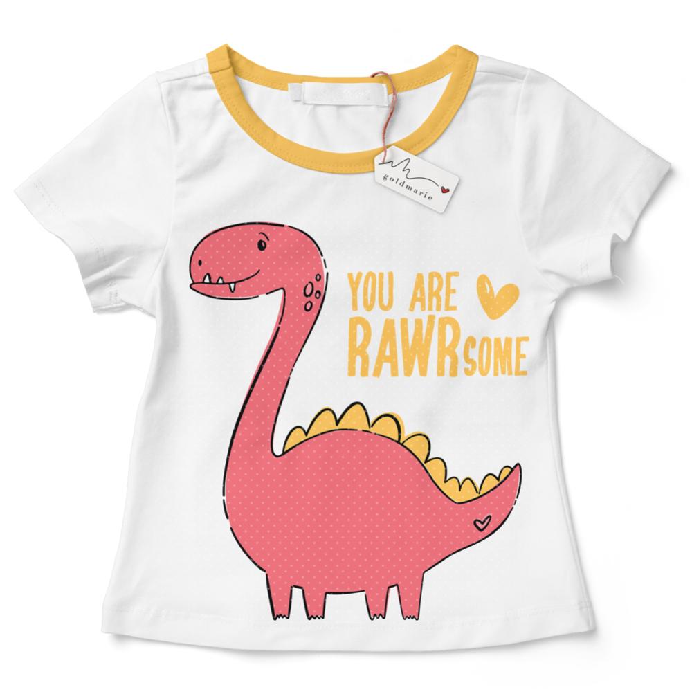 "Dino Plotterdatei ""You are RAWRsome!"" | SVG u. DXF"