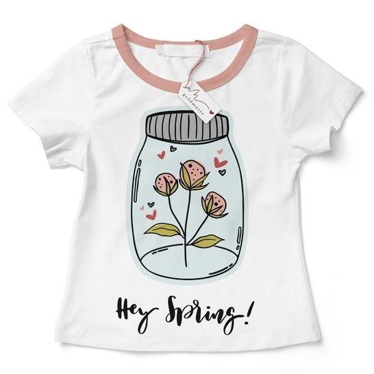 "Frühlings Plotterdatei ""Hey Spring"" | SVG u. DXF bei Makerist - Bild 1"