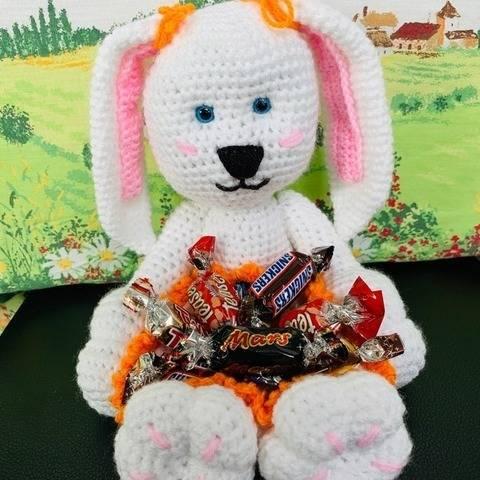 TUTO PDF crochet lapin chocolat