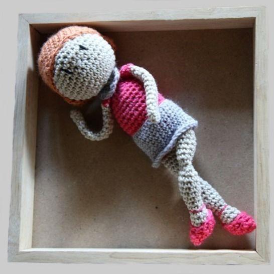 La poupée Romy - Tutoriel au crochet chez Makerist - Image 1