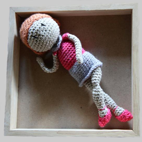 La poupée Romy - Tutoriel au crochet