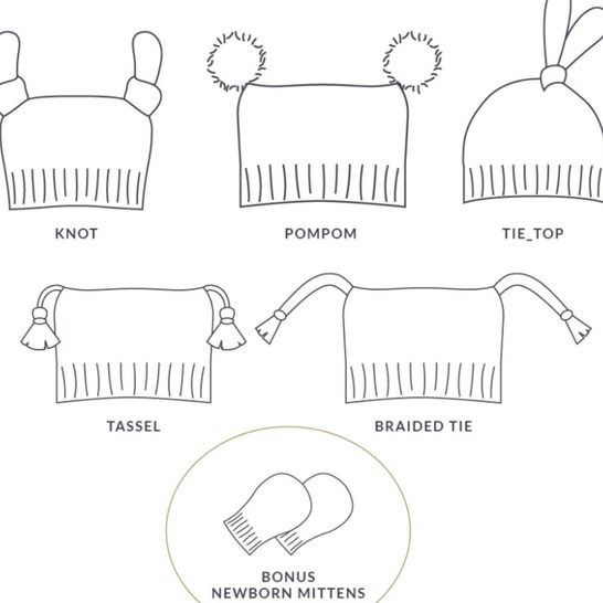 Alpine Hat Collection - PDF Pattern at Makerist - Image 1