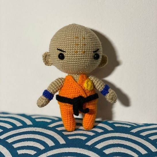 Patron Crochet - Amigurumi Krillin Dragon Ball chez Makerist - Image 1