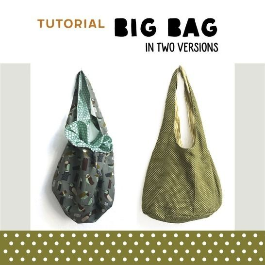 BIG BAG in two versions sewing pattern and instructions at Makerist - Image 1