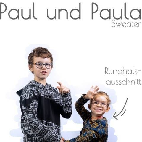 Kombi-eBook Paula & Paul  inkl. Plotterdatei & Applivorlage