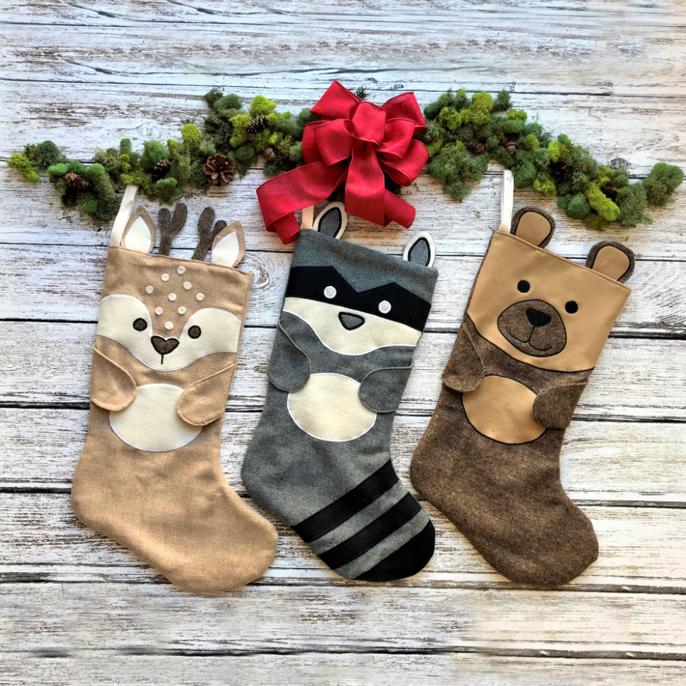 Animal Stockings - PDF Pattern