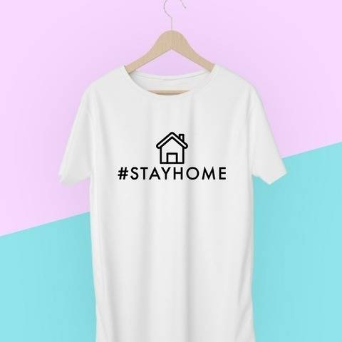 Plotterdatei-Set - Statement  #stayhome bei Makerist