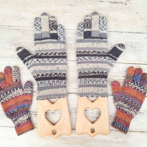 Finger Tips Glove Pattern For Children
