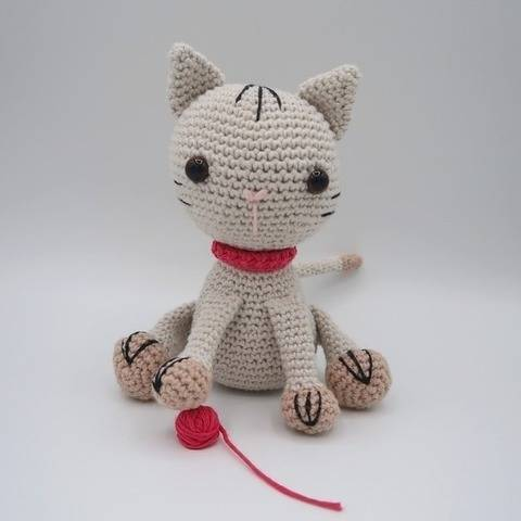 Coton, le chaton • Amigurumi au crochet