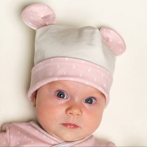 ORSO Easy Baby Beanie PDF sewing pattern in 3 Versions
