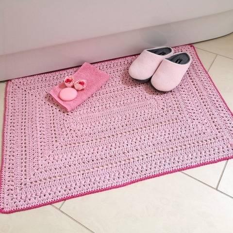 Häkelanleitung Teppich oder Tischdeckchen