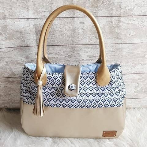 "Handtaschen Schnittmuster ""FleXX-Handbag"" bei Makerist"