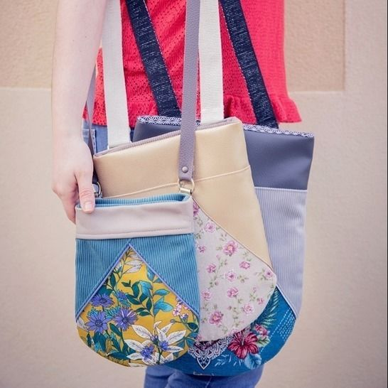 Le sac Emy - combiné des 3 tailles (2 variations incluses) chez Makerist - Image 1