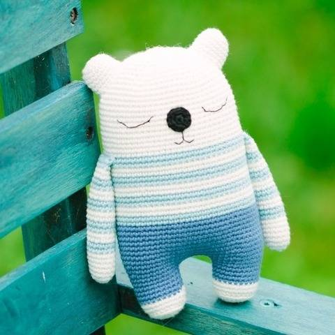 Bear amigurumi pattern, Bear crochet pattern at Makerist