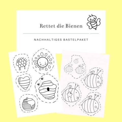 Rettet die Bienen - Bastelpaket