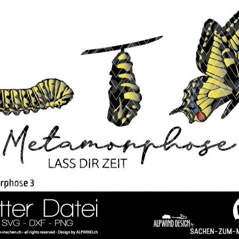 "Plotter-Datei ""Metamorphose"" #3"